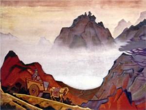 Landscape by Nicholas Roerich