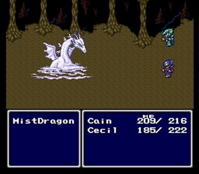 SNES Final Fantasy IV (source)