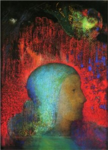 Odilon Redon - Joan of Arc