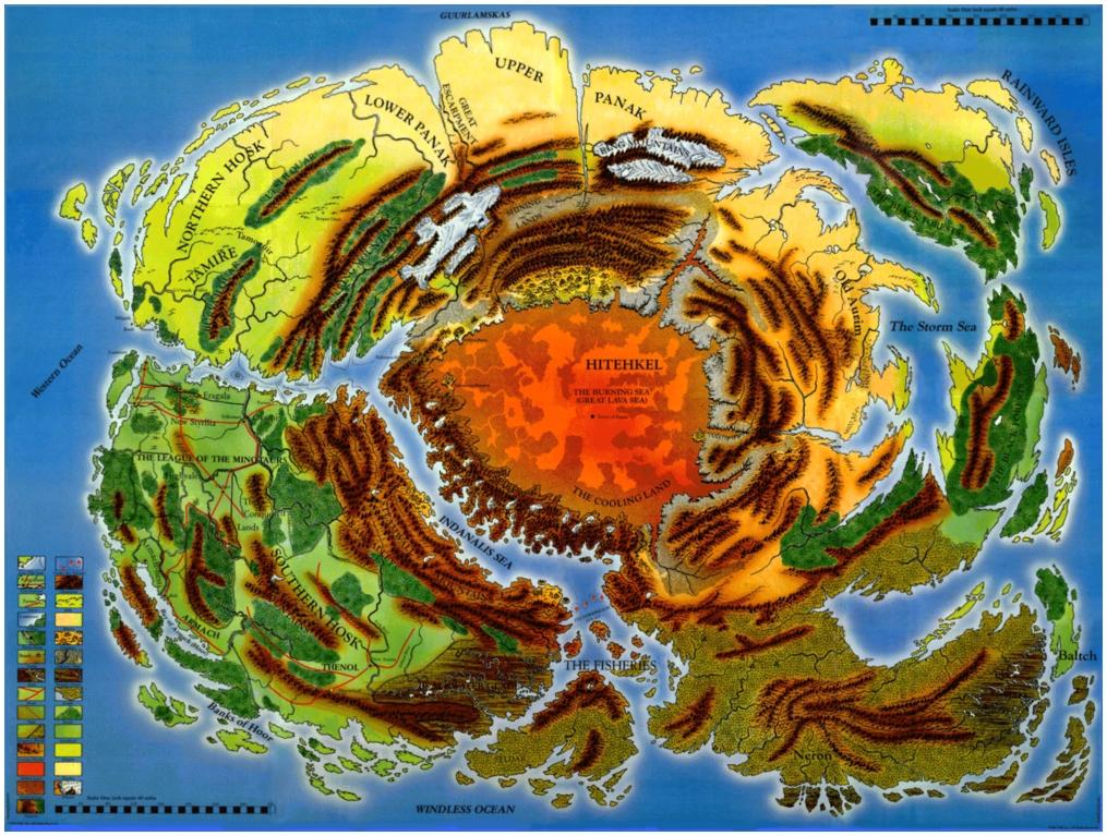 Map of Taladas