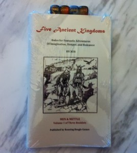 Five Ancient Kingdoms, print edition
