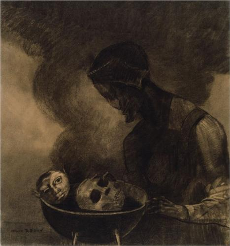 Redon - Cauldron of the Sorceress (source)