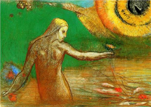 Redon - Flower of Blood (source)