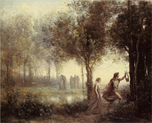 Corot - Orpheus Leading Eurydice (source)