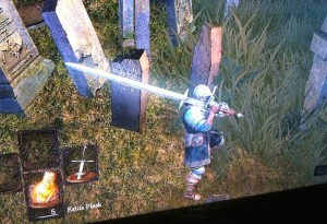 Dark Souls zweihander (personal photo)