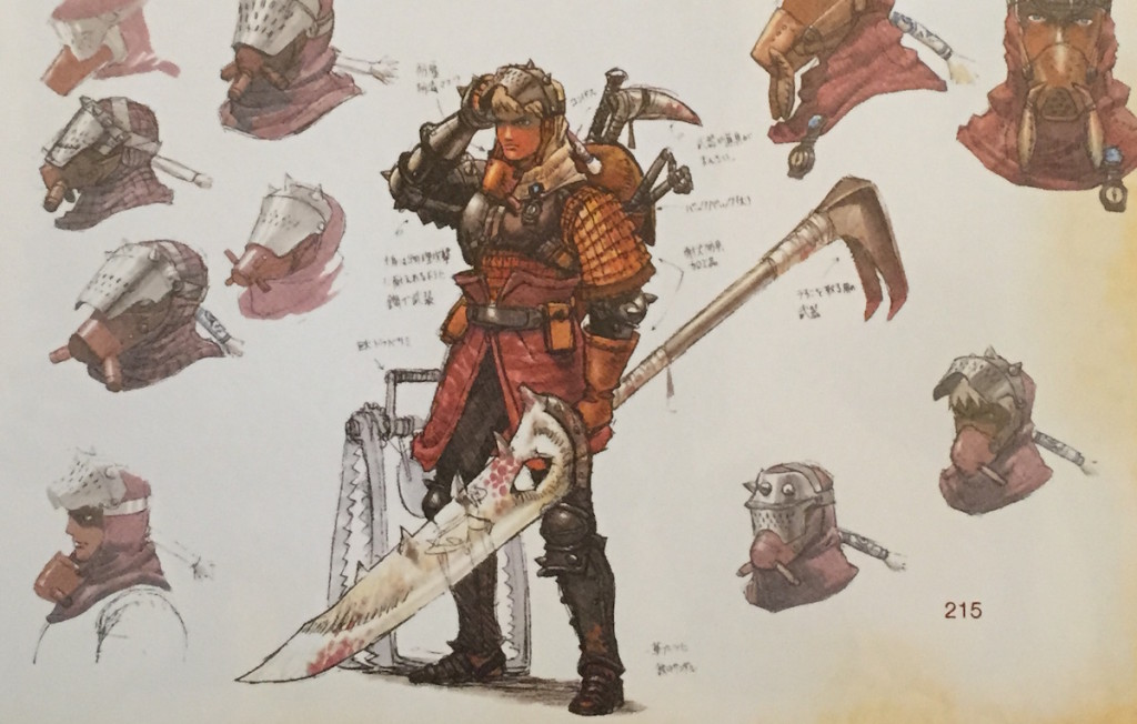 Monster Hunter concept art