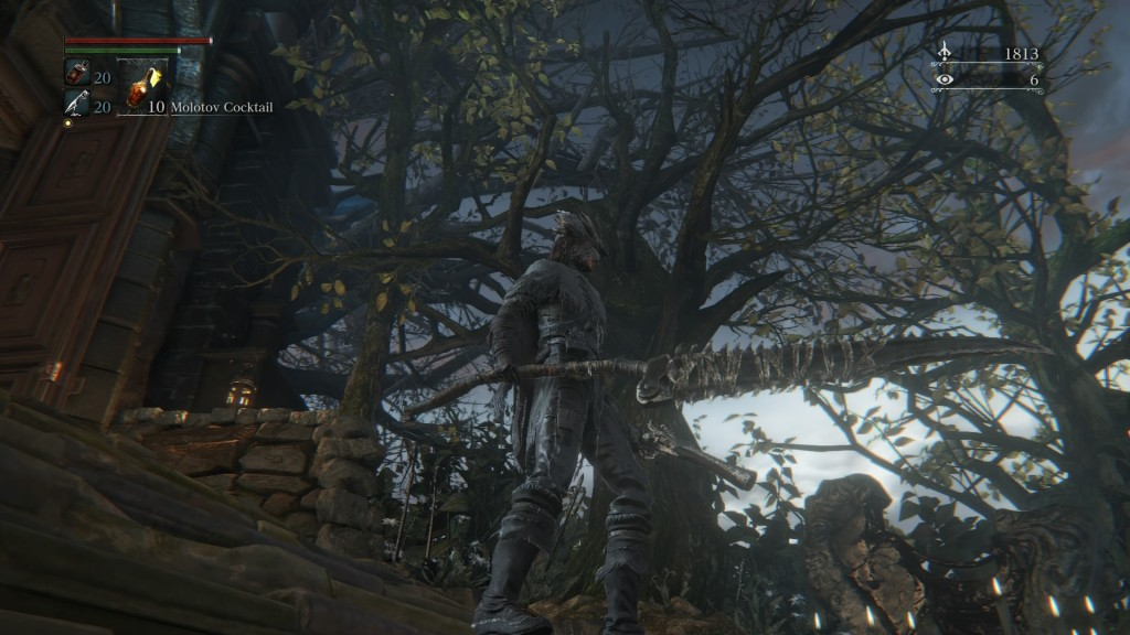 Saw spear from Bloodborne