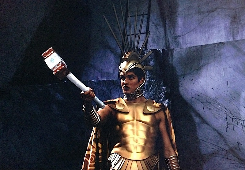 Daniel Sharman as Ares in Immortals (2011)
