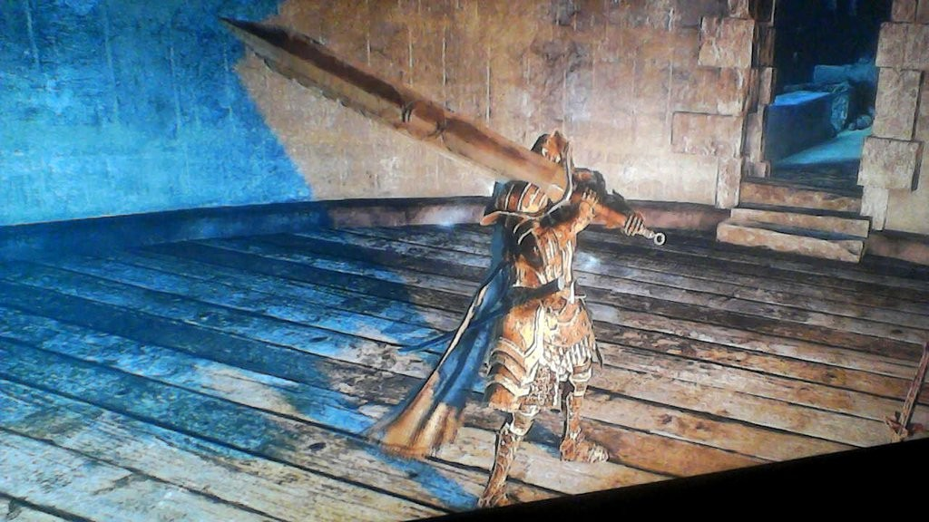 Pursuer's Ultra Greatsword from Dark Souls 2