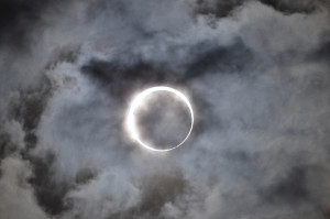 Eclipse image by T. Kuboki